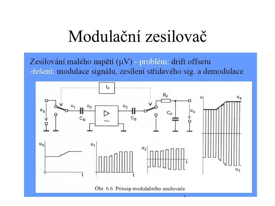Modulační zesilovač
