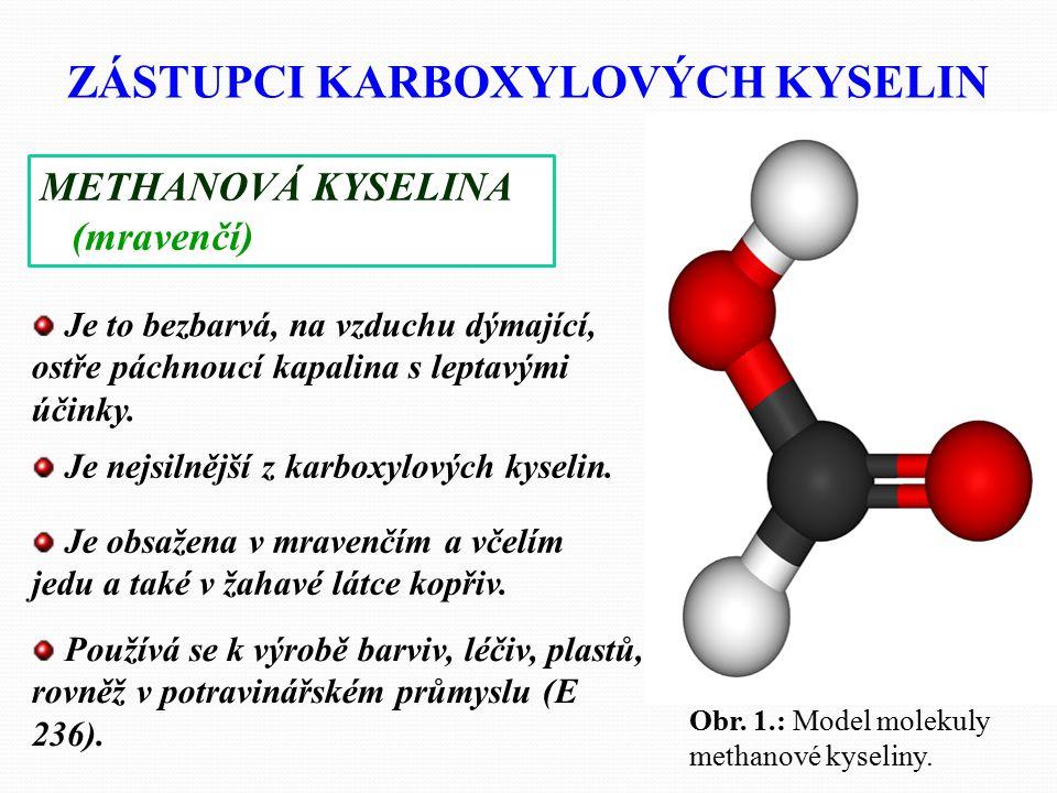 Jako nasycené označujeme takové karboxylové kyseliny, které jsou deriváty nasycených uhlovodíků a mají v uhlíkatém řetězci pouze jednoduché vazby. Cha