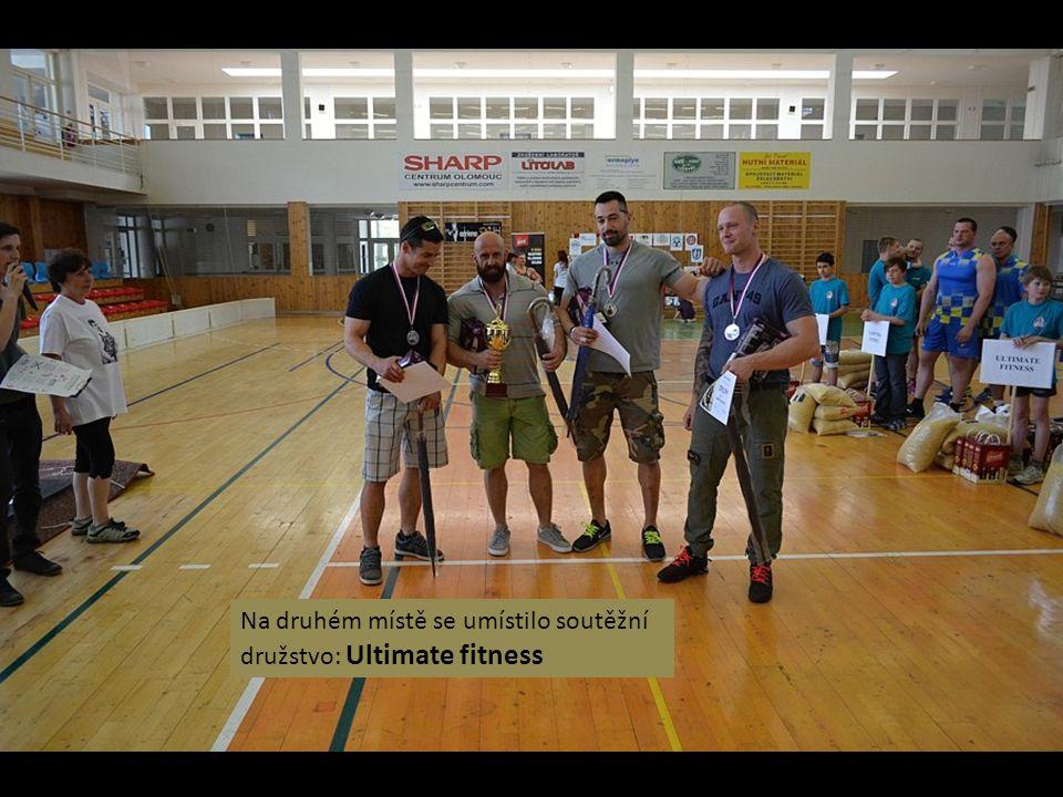 Na třetím místě se umístilo soutěžní družstvo: Aktim team