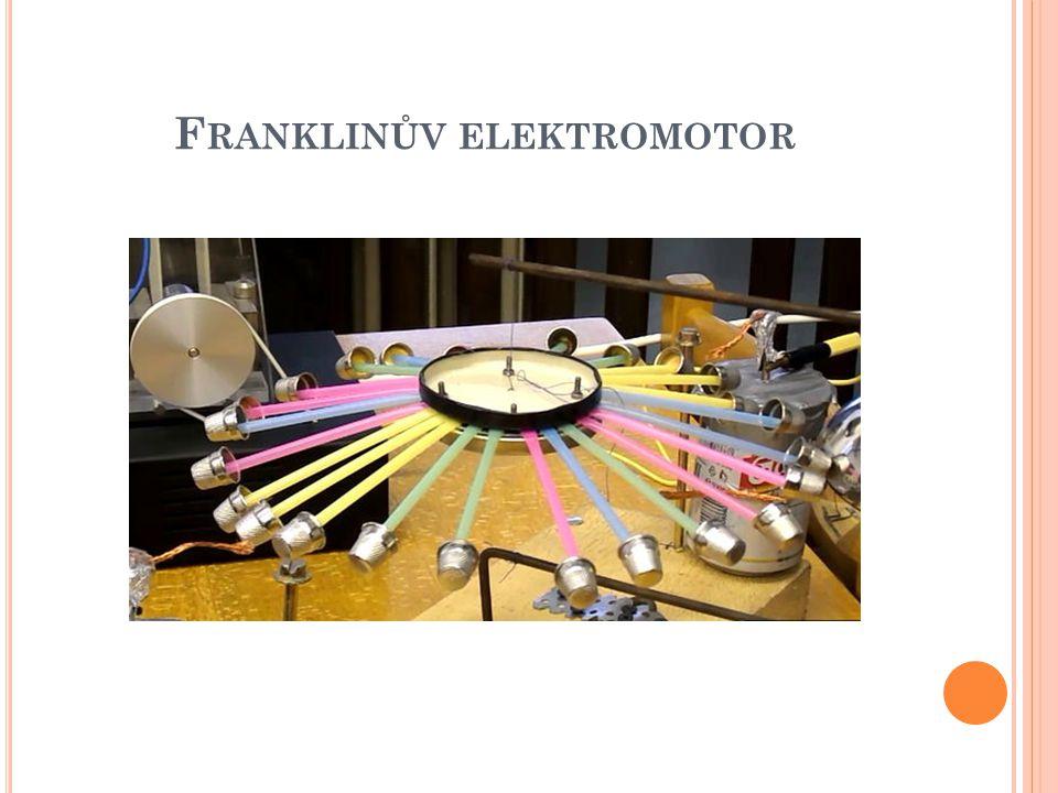 F RANKLINŮV ELEKTROMOTOR