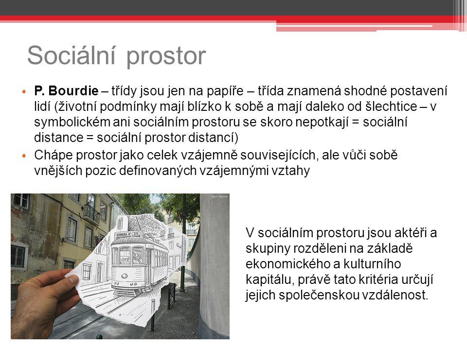 Sociální prostor P.