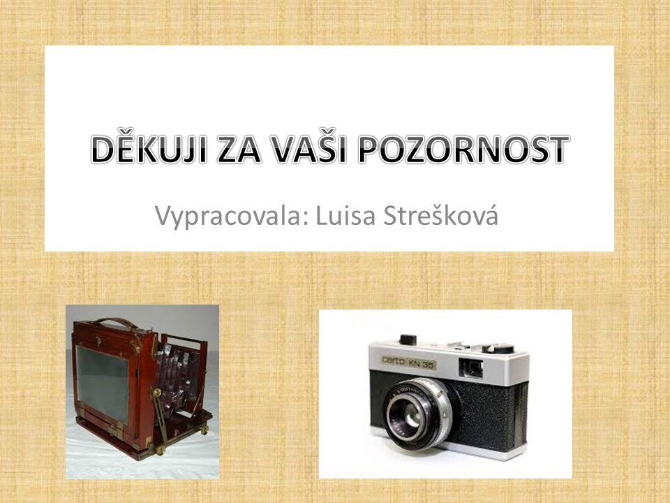 Vypracovala: Luisa Strešková