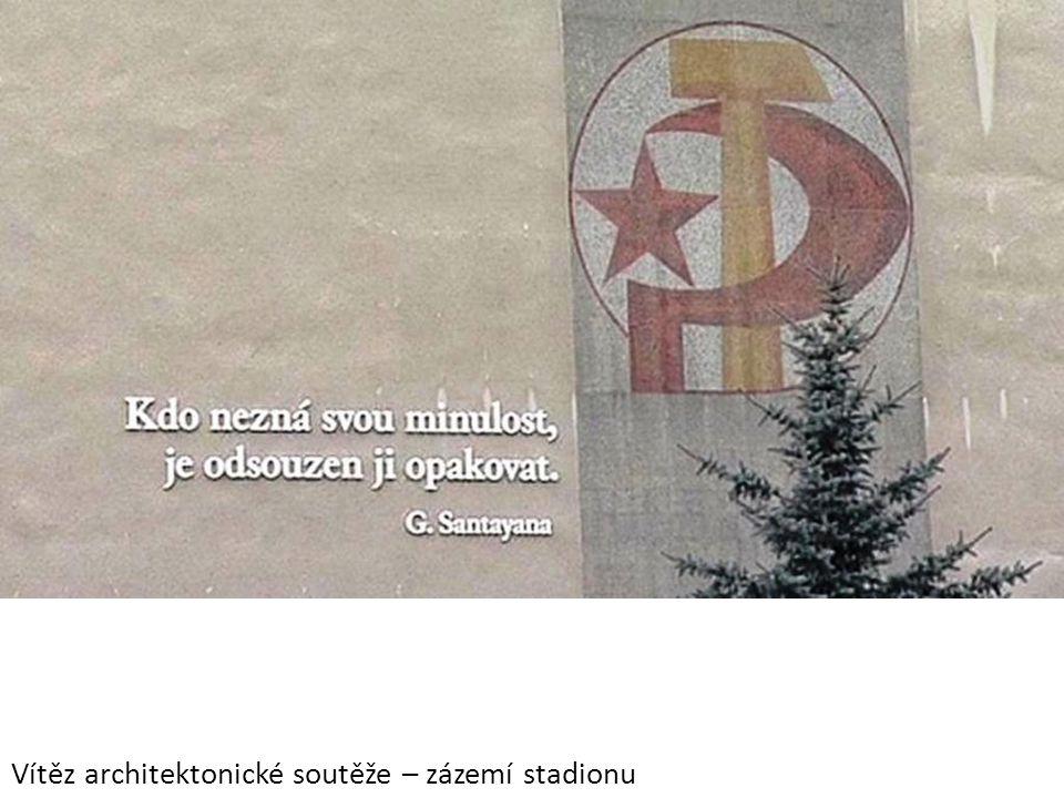 Vítěz architektonické soutěže – zázemí stadionu