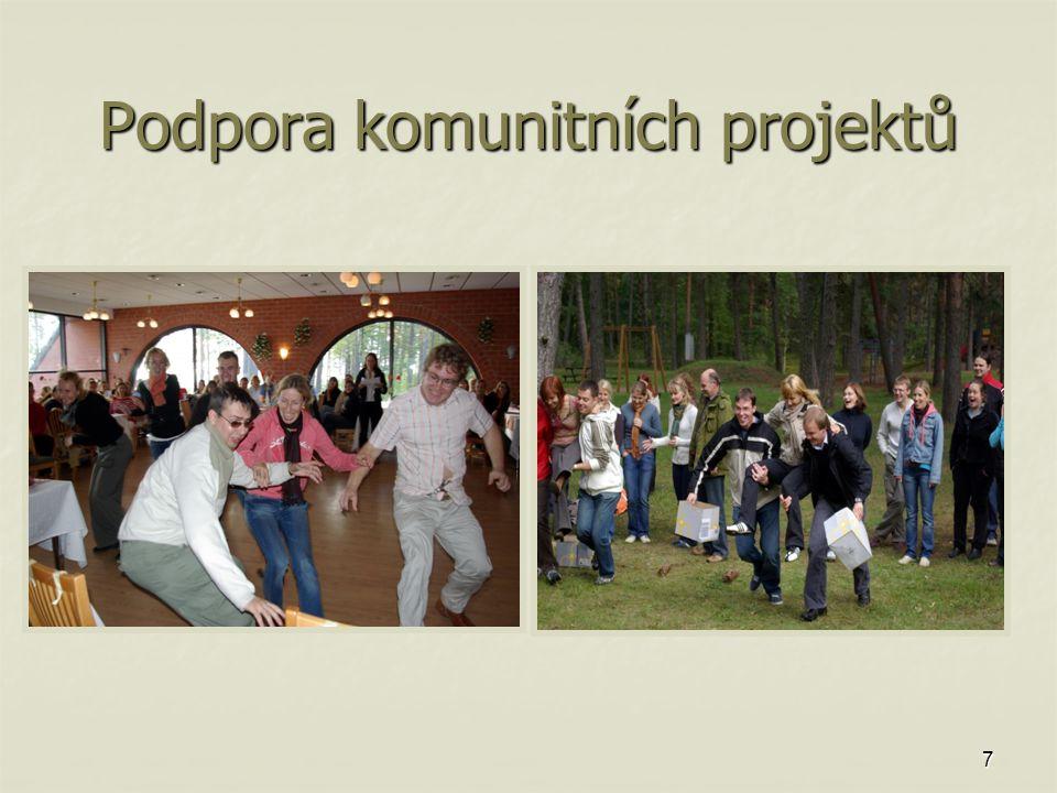 7 Podpora komunitních projektů