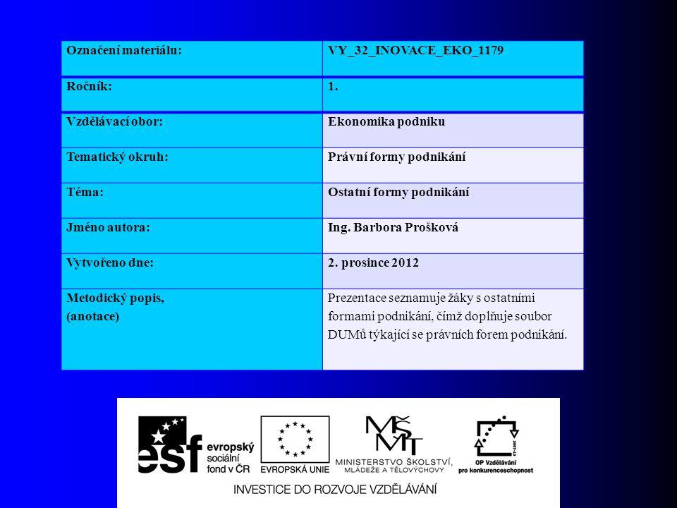 Tichá společnost  Právní úprava: Zákon č.513/1991 Sb.
