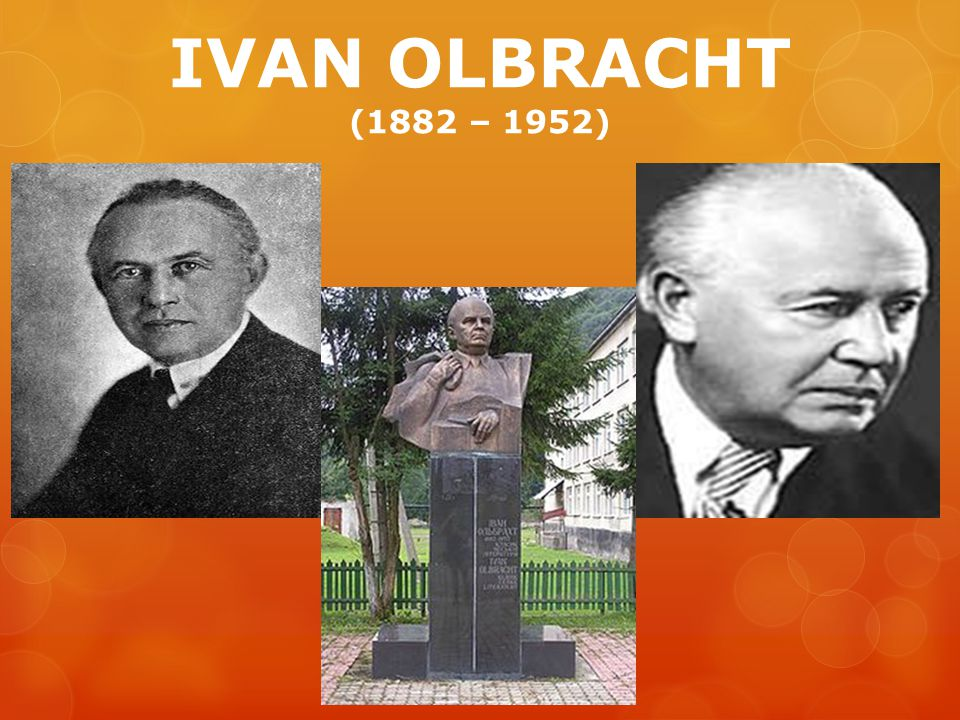 IVAN OLBRACHT (1882 – 1952)