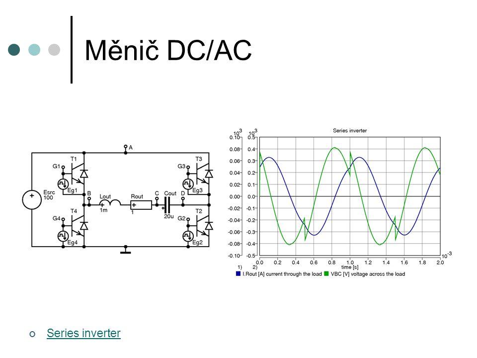 Měnič DC/AC Series inverter