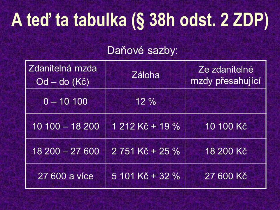 A teď ta tabulka (§ 38h odst.