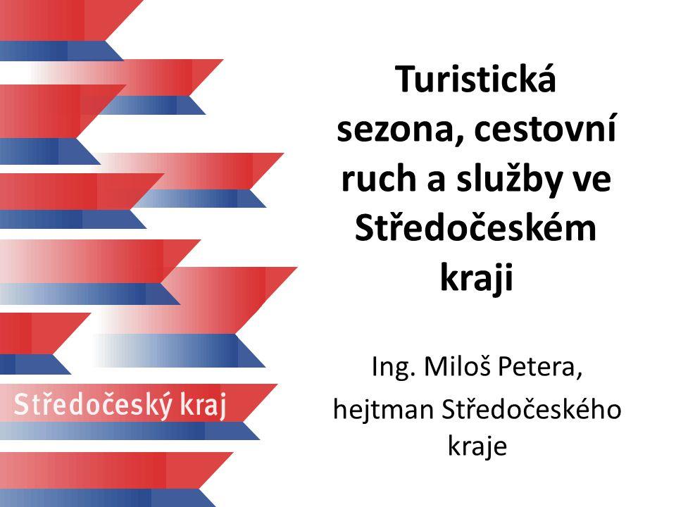 Turistická sezona, cestovní ruch a služby ve Středočeském kraji Ing.
