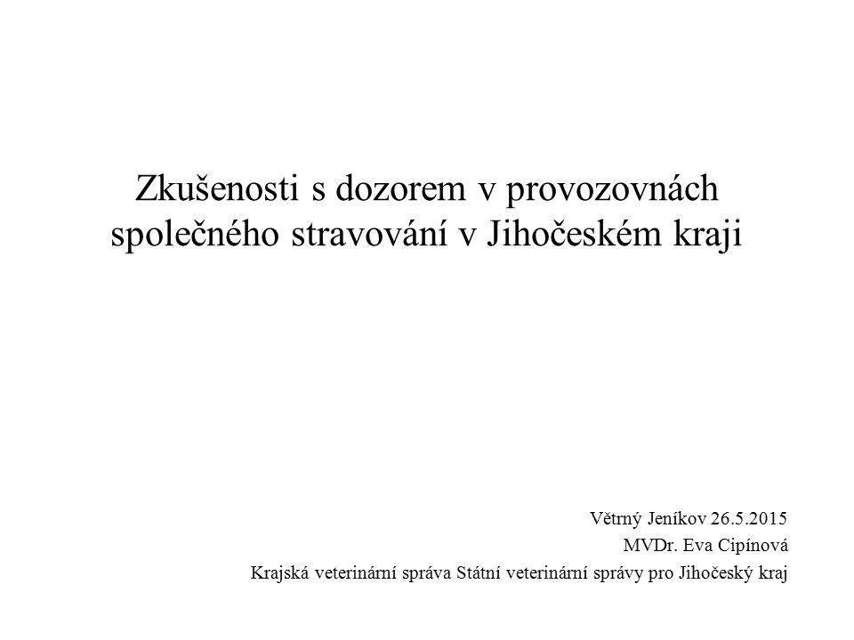 Legislativní podklad Novela zákona o potravinách § 16 odst.