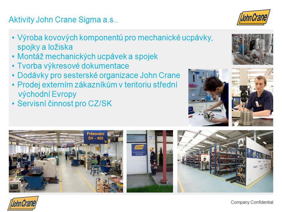 Smiths Group plc Annual Results 2012 | 5 Company Confidential Aktivity John Crane Sigma a.s..