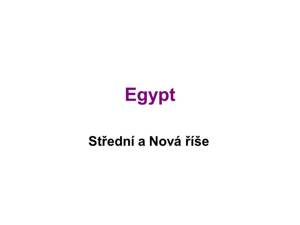 Egypt Střední a Nová říše