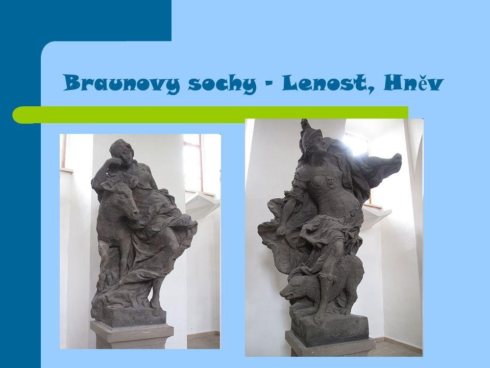 Braunovy sochy - Lenost, Hn ě v