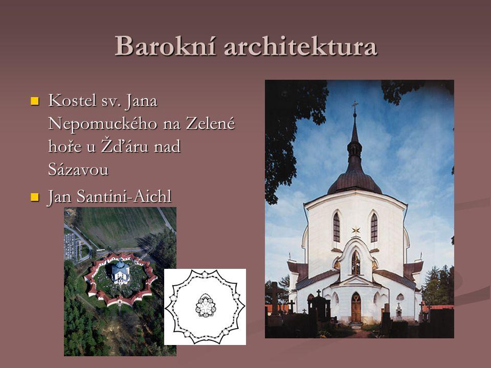 Barokní architektura Kuks Kuks Matyáš Bernard Braun Matyáš Bernard Braun