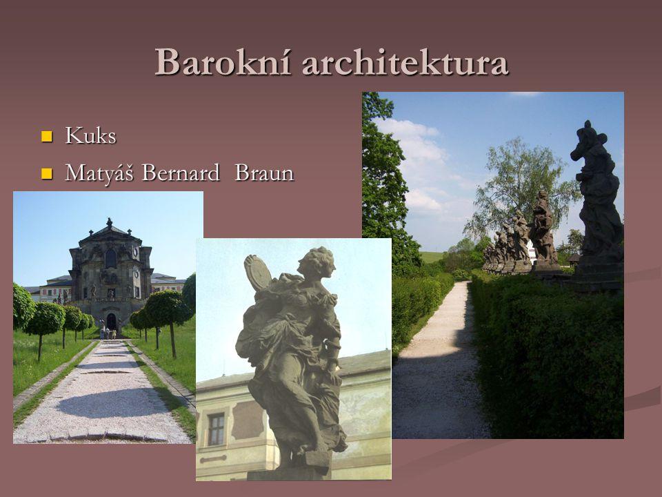 Barokní architektura Sloup Nejsvětější Trojice v Olomouci Největší seskupení barokních soch v jedné skulptuře ve střední Evropě