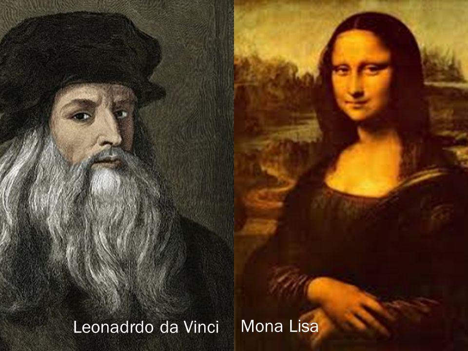 Leonadrdo da Vinci Mona Lisa