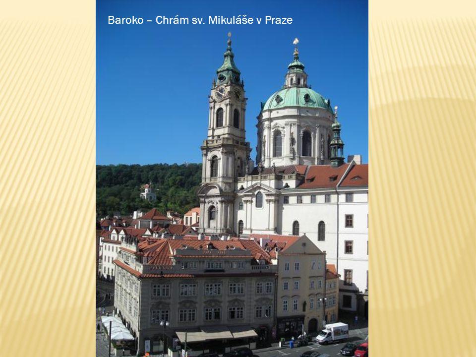 Baroko – Chrám sv. Mikuláše v Praze