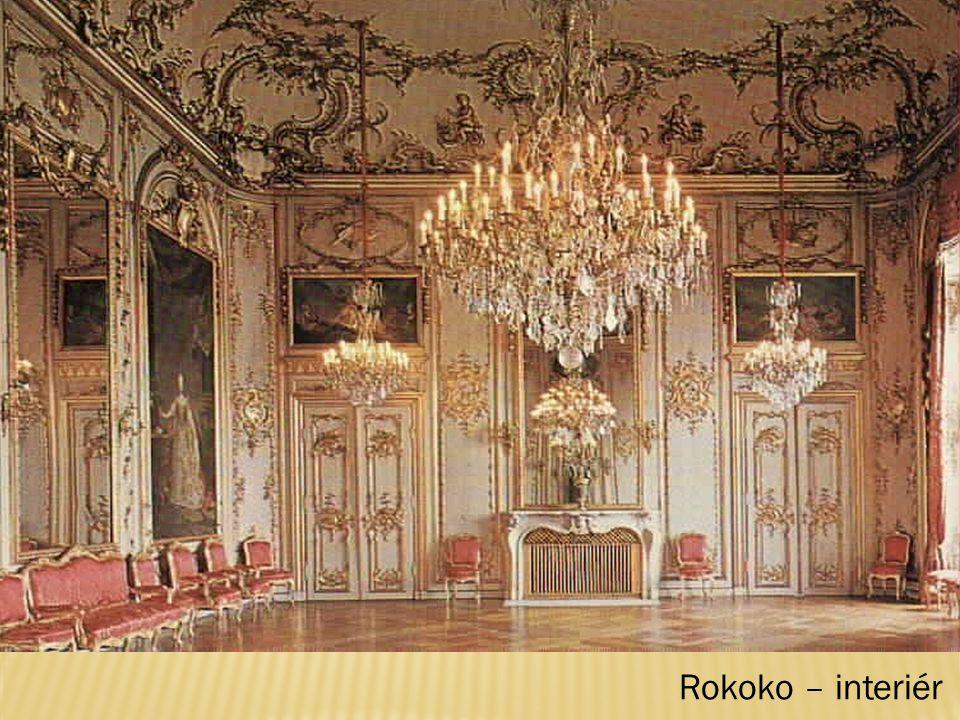 Rokoko – interiér
