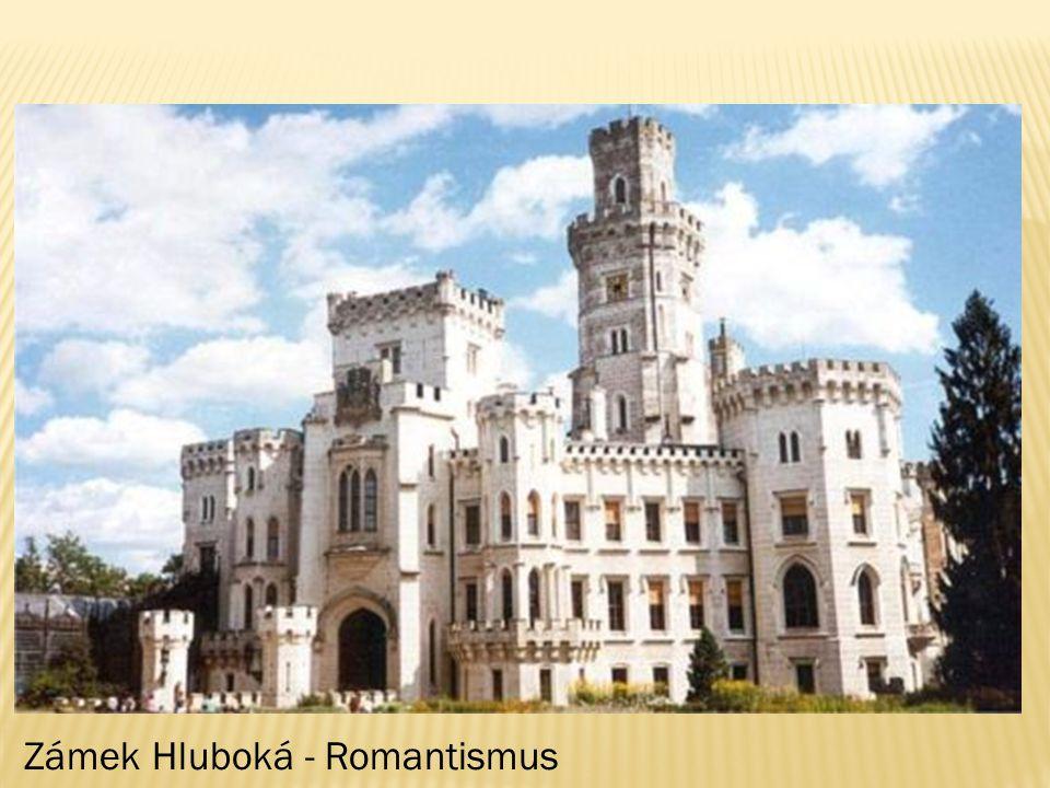 Zámek Hluboká - Romantismus