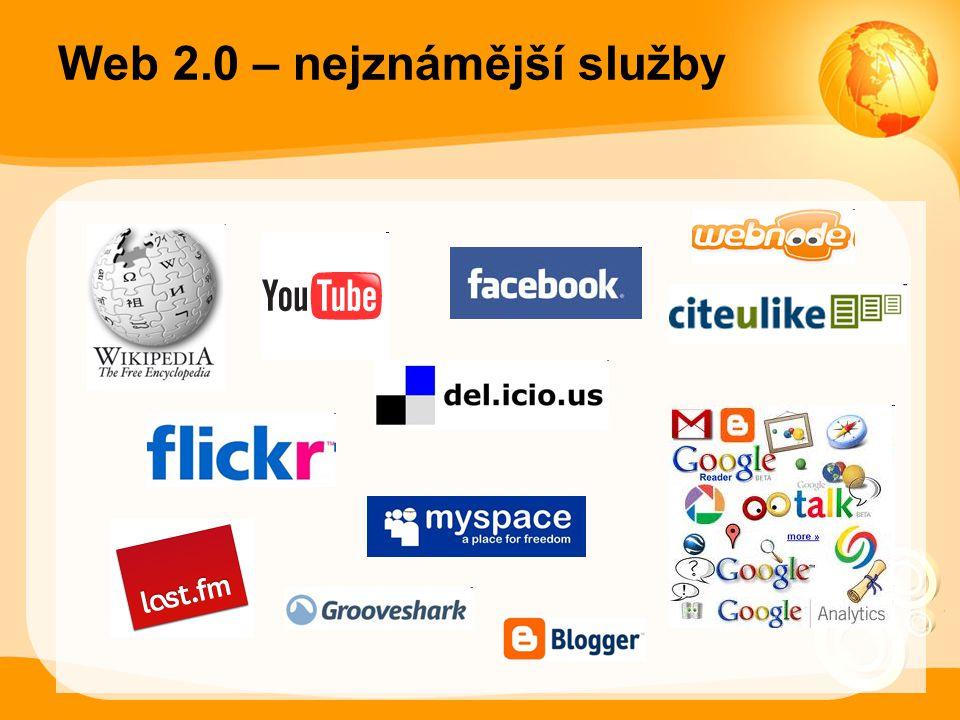 Web 2.0 – nejznámější služby
