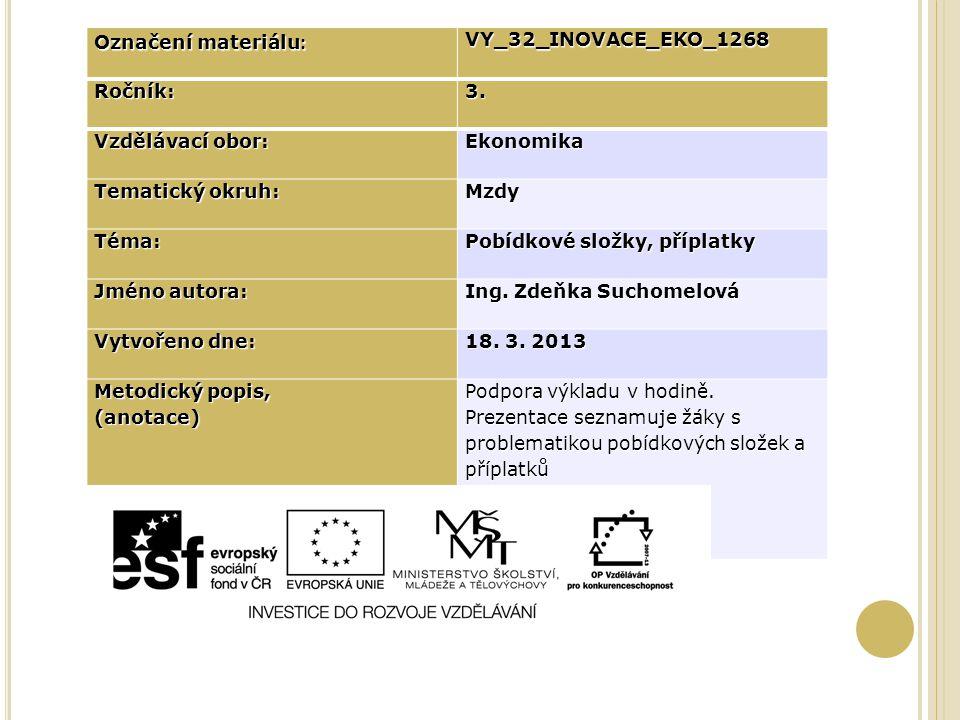 Označení materiálu : VY_32_INOVACE_EKO_1268Ročník:3.