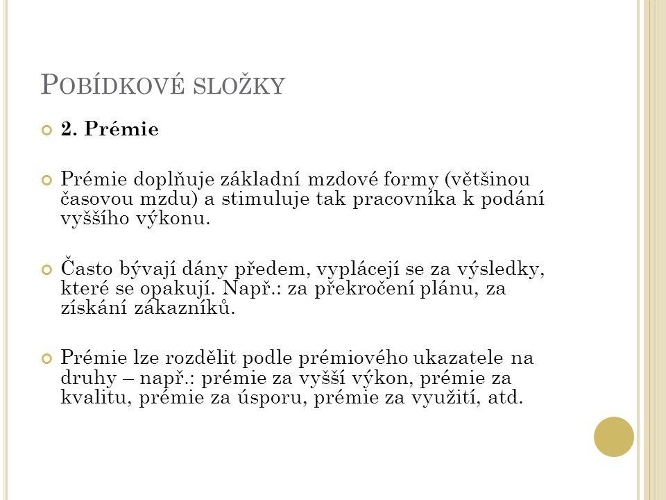 P OBÍDKOVÉ SLOŽKY 2.