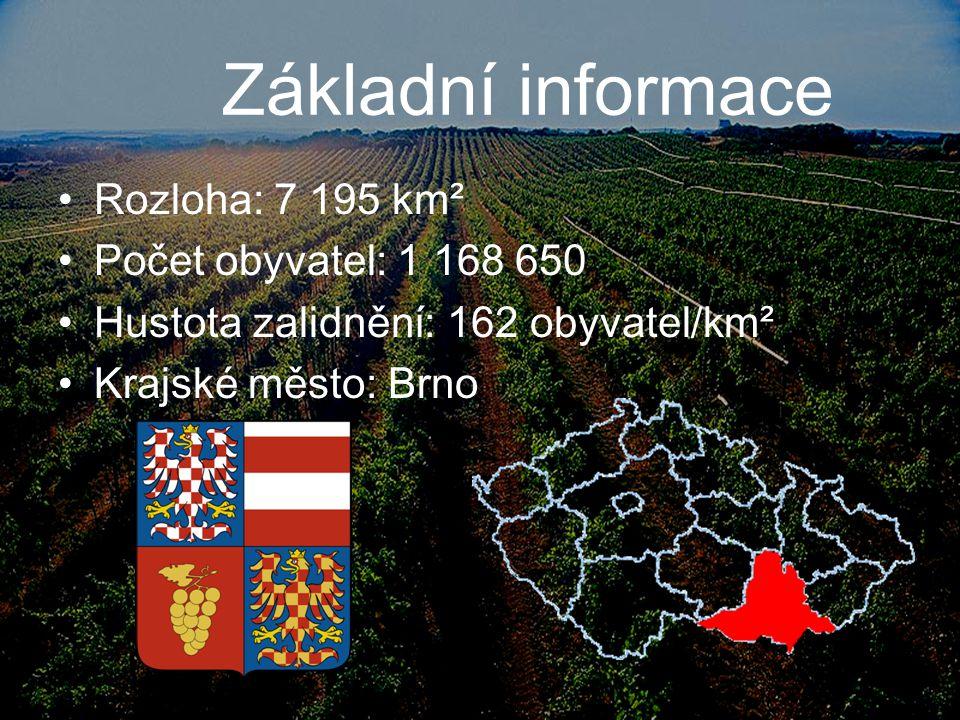 Přírodní podmínky západ a severozápad kraje pokrývají výběžky Českomoravské vrchoviny ( Drahanská vrchovina a Moravský kras ) na východě jsou Karpaty (Dolnomoravský úval) nejvyšší bod: Durda (838 m n.