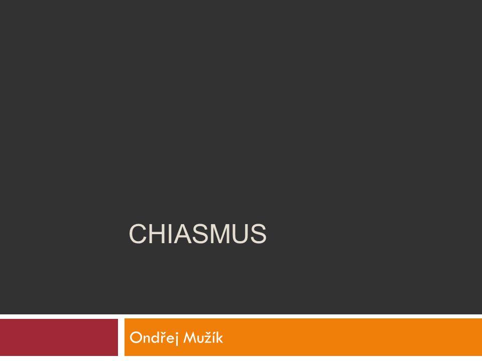 Ondřej Mužík CHIASMUS