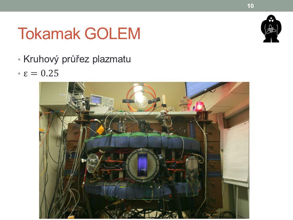 Tokamak GOLEM 10