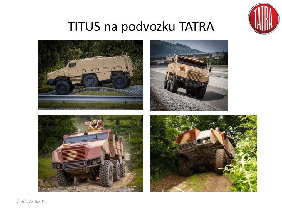 TITUS na podvozku TATRA Žofín, 22.6.2015