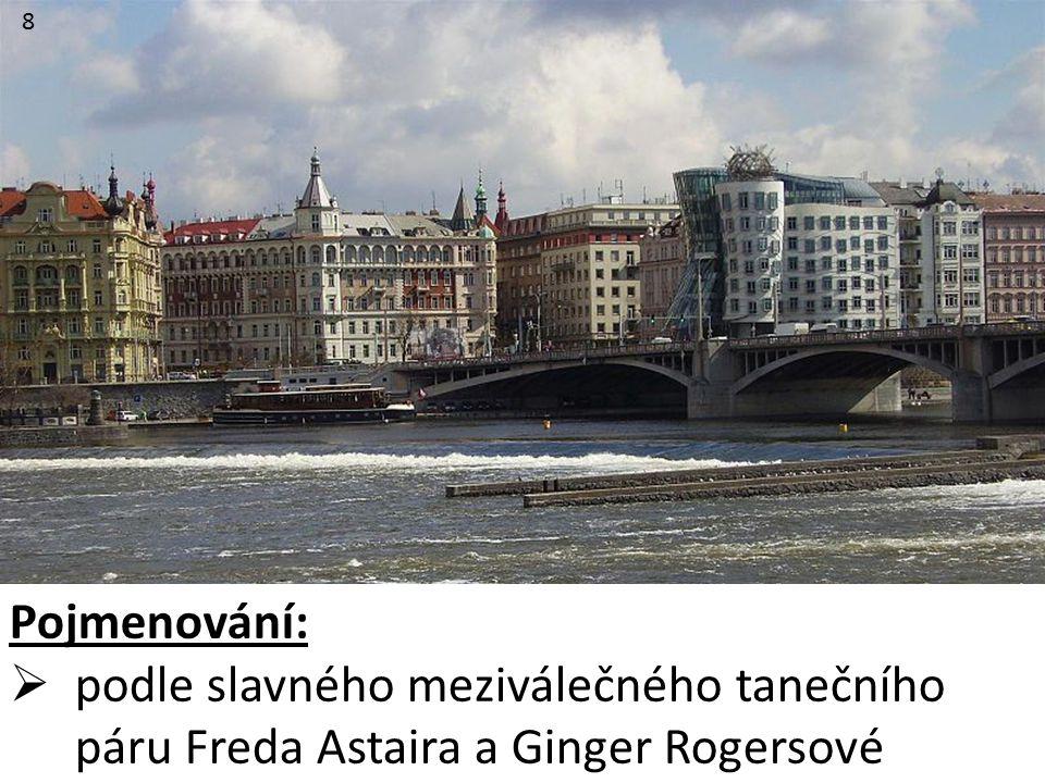 8 Pojmenování:  podle slavného meziválečného tanečního páru Freda Astaira a Ginger Rogersové