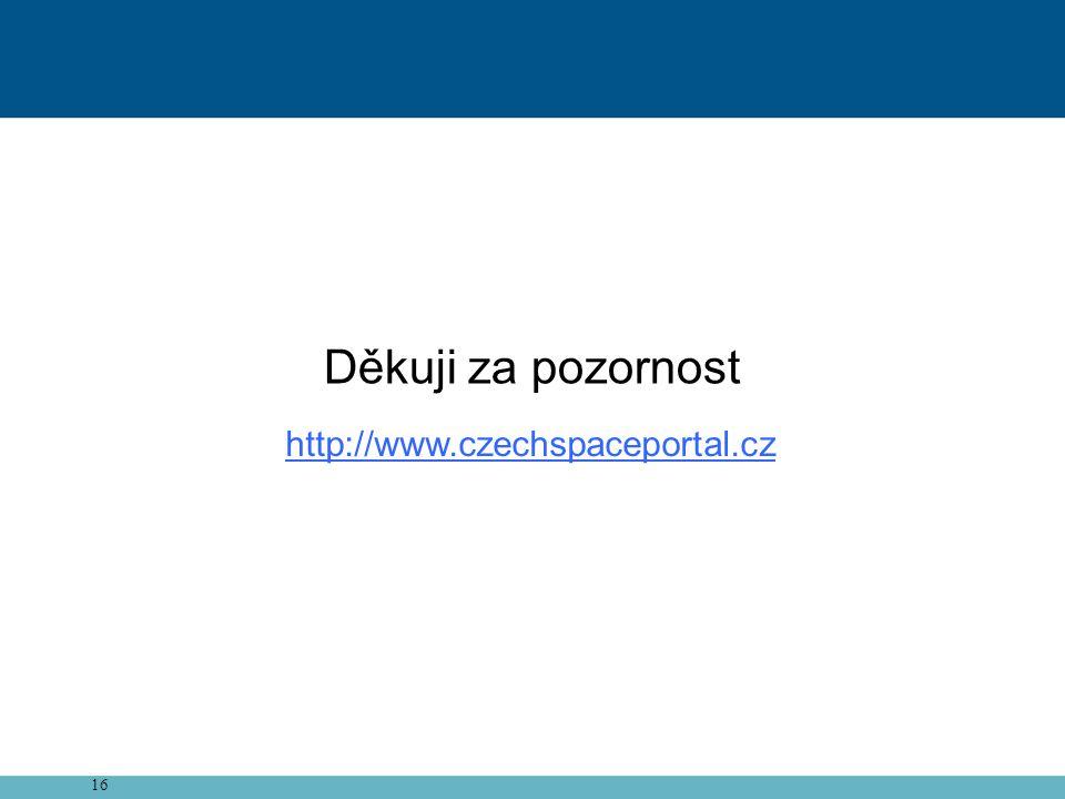 16 Děkuji za pozornost http://www.czechspaceportal.cz
