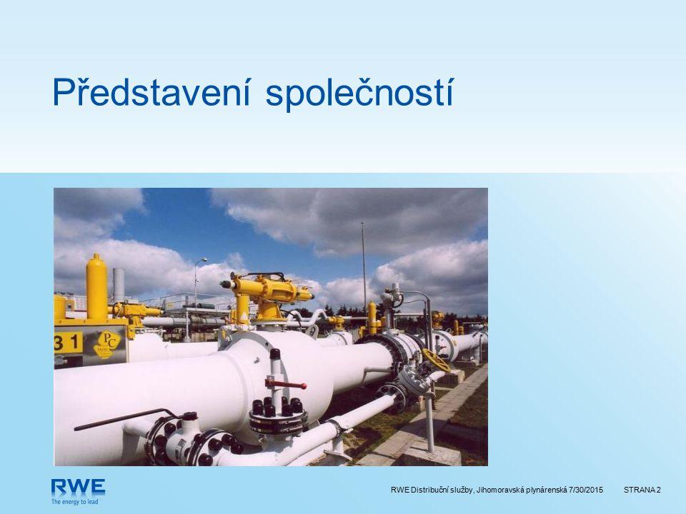 RWE Distribuční služby, Jihomoravská plynárenská 7/30/2015STRANA 2 Představení společností
