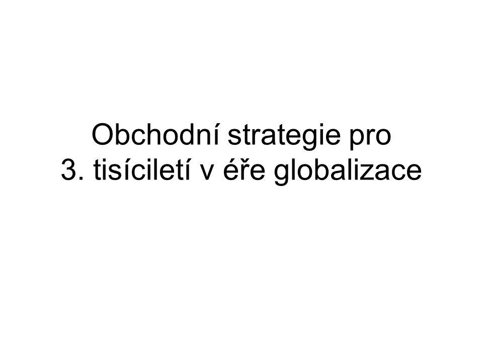 Obchodní strategie pro 3. tisíciletí v éře globalizace