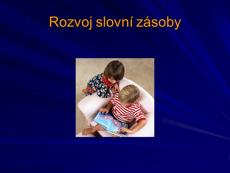 Rozvoj slovní zásoby