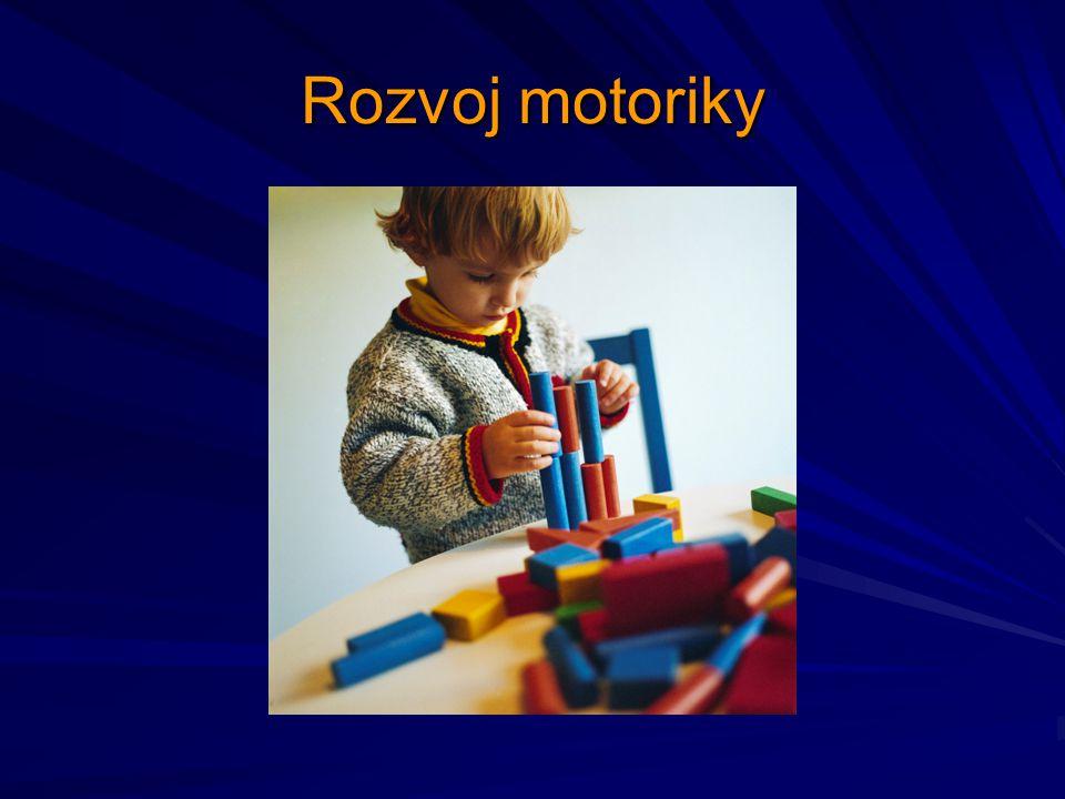 Rozvoj motoriky