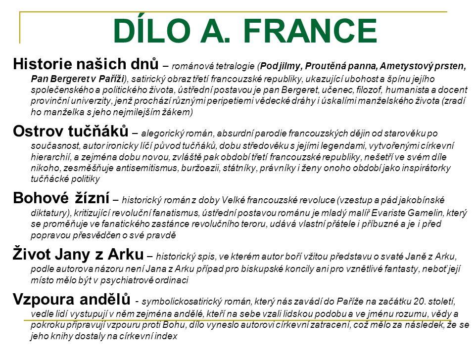 DÍLO A.