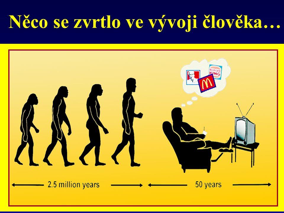 The evolution of mankind… Něco se zvrtlo ve vývoji člověka…