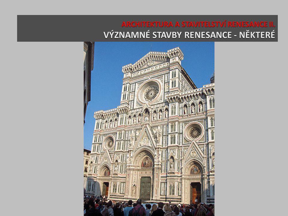 Dóm ve Florencii s Brunelleschiho kupolí (1420-1435)
