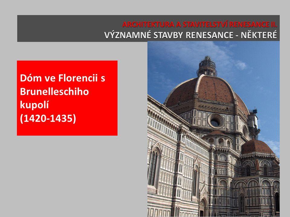 Průčelí SM Novella, Florencie (Alberti, 1446-1451)