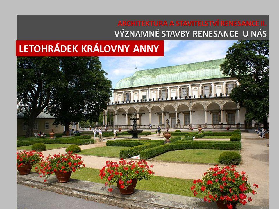 LETOHRÁDEK KRÁLOVNY ANNY