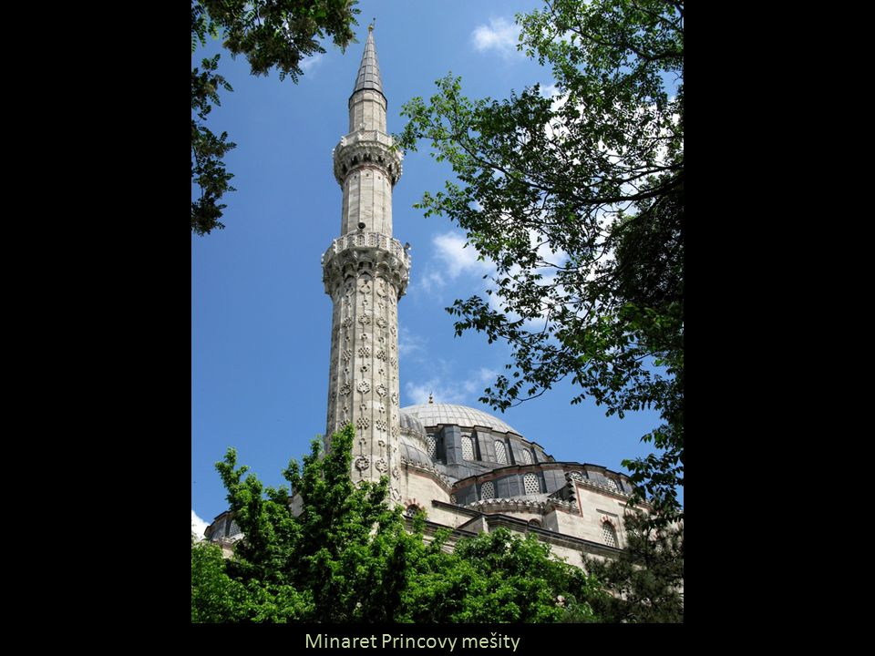 Minaret Princovy mešity