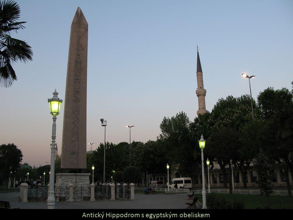Antický Hippodrom s egyptským obeliskem