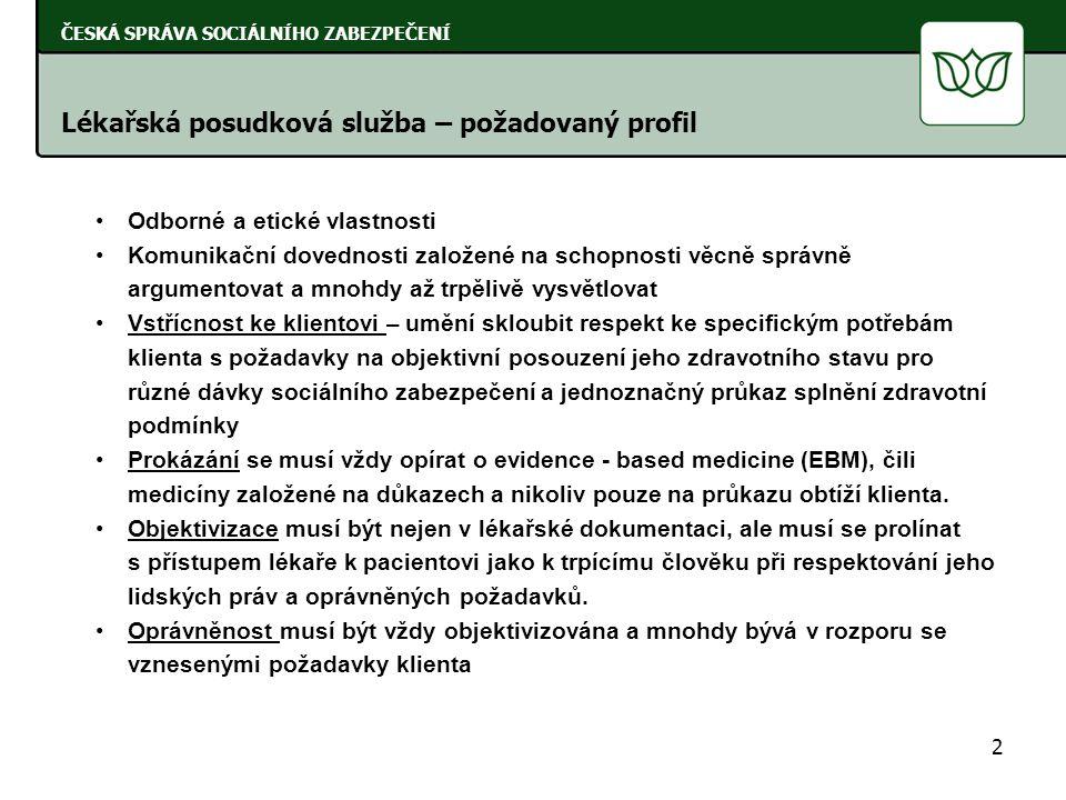 23 ČESKÁ SPRÁVA SOCIÁLNÍHO ZABEZPEČENÍ Počty posudků zpracovaných posudkovými komisemi (posudky komisí MPSV ve vztahu k posudkům orgánů 1.