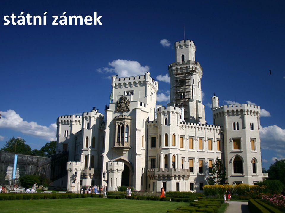 1 státní zámek