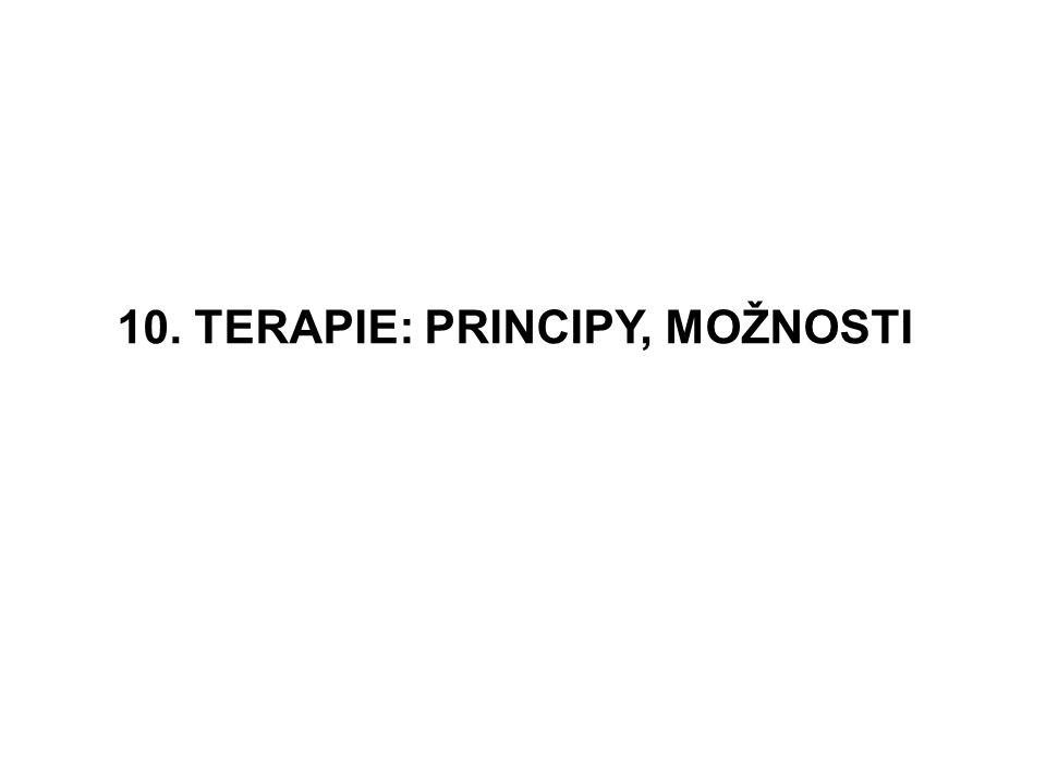 10. TERAPIE: PRINCIPY, MOŽNOSTI