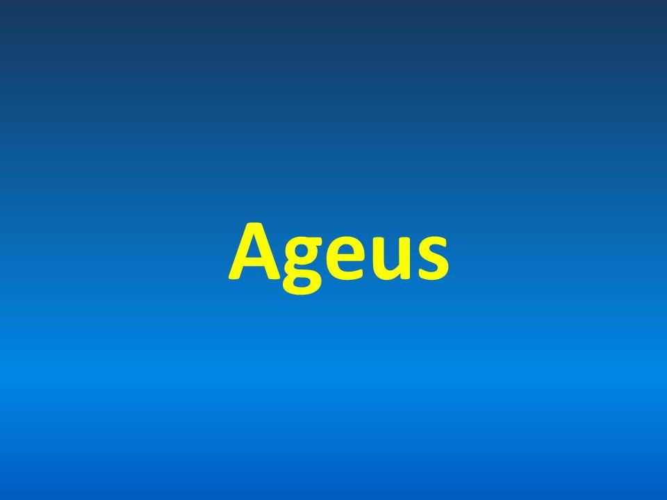 Autor a datum vzniku Ageus 520-515 př.Kr. Soudobý prorok: Zachariáš 520–480 př.
