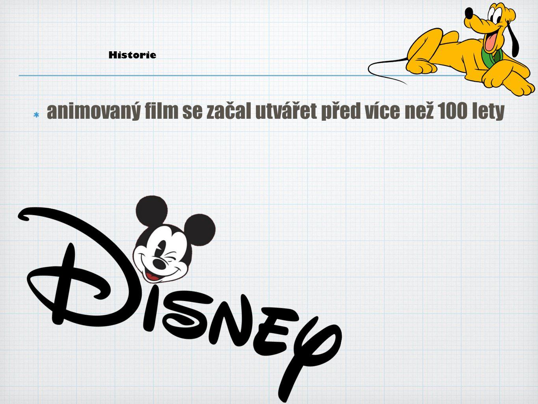 Animovaný film u nás animovaný film se unás začal utvářet před více než 70 lety významné centrum českého animovaného filmu bylo na Moravě Karel Zeman, Hermína Týrlová, Jiří Trnka