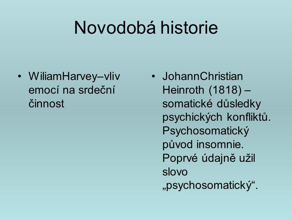 Modely psychosomatických onemocnění J.