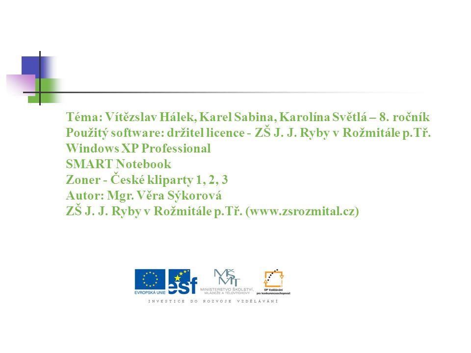 Libreto k opeře Hubička Bedřicha Smetany napsala 1. Karolína Světlá 2. Eliška Krásnohorská 3. Božena Němcová 0 z 5